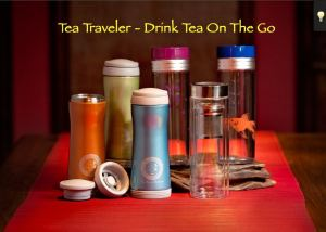 green tea traveler mug