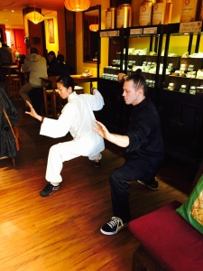 tai chi at the green teahouse in new haven