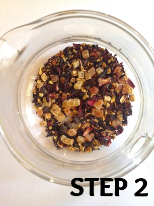 ADD TEA TO PITCHER
