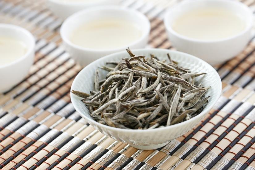 white tip silver needle tea